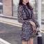 ชุดเดรสเกาหลี พร้อมส่งMini dress งานลูกไม้ทั้งชุด thumbnail 4