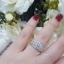 พร้อมส่ง Diamond Ring งานเพชรสวิส thumbnail 5