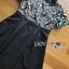 ชุดเดรสเกาหลี พร้อมส่งเดรสผ้าลูกไม้โทนสีฟ้าเทา thumbnail 12
