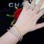 พร้อมส่ง Diamond Bracelet & Ring งาน 3 กษัตริย์ สีเงิน/ทอง/พิ้งโกลด์ สวยมาก thumbnail 6