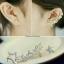 พร้อมส่ง Diamond Earring งานเพชร CZ แท้ thumbnail 4