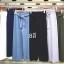 เสื้อผ้าแฟชั่นเกาหลีพร้อมส่ง กางเกงอัดพลีทผูกโบด้านหน้า ใส่สบายๆเก๋ๆ thumbnail 4