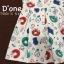 ชุดเดรสเกาหลี พร้อมส่ง Dress mof รุ่นนี้มาพร้อมคอปกและแขนสั้นคร้า กระโปรงตัดเป็นจีบใหญ่ๆรอบๆตัว thumbnail 7