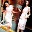 ชุดเดรสเกาหลี พร้อมส่งMini dress ลูกไม้แจนสั้นเนื้อถัก thumbnail 8