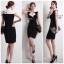 ( พร้อมส่ง ) Cliona Made ,Classic Tone Sassy & Smart Dress thumbnail 3