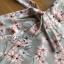 ชุดเดรสเกาหลี พร้อมส่งเดรสผ้าเครปพิมพ์ลายดอกไม้สีพาสเทลตกแต่งระบาย thumbnail 17