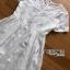 ชุดเดรสแฟชั่น พร้อมส่งเดรสผ้าลูกไม้สีขาวสไตล์เบสิกสุดหวาน thumbnail 14