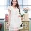 ชุดเดรสเกาหลี พร้อมส่งLuxury Lace Pricess Dress thumbnail 5