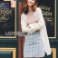 Annie Classic Royal White Cotton and Lace Tunic Dress thumbnail 1