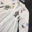 เสื้อผ้าเกาหลี พร้อมส่งเสื้อคอจีนสีขาว thumbnail 7