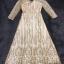 ชุดเดรสเกาหลี พร้อมส่งMorgan Luxury Golden Dress thumbnail 6