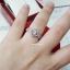 พร้อมส่ง Diamond Ring งานเพชรล้อม ใช้ CZ แท้ thumbnail 5