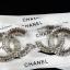 พร้อมส่ง Chanel Brooch & Earring งานเกาหลี เพชร swarovski thumbnail 3