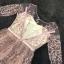 ชุดเดรสเกาหลี พร้อมส่งPastel Purple Embroidered Feathers Luxury Dress thumbnail 9