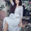 Jena Little Princess Classic White Lace Dress thumbnail 1