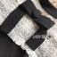 ชุดเดรสเกาหลีพร้อมส่ง เดรสผ้าลูกไม้และผ้าเครปสีขาว-ดำต thumbnail 12
