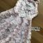 ชุดเดรสเกาหลี พร้อมส่งเดรสผ้าเครปสีชมพูปักผีเสื้อตกแต่งสร้อยคอมุก thumbnail 9