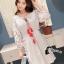 ชุดเดรสเกาหลี พร้อมส่งMini dress สไตส์สาวโมฮีเมี่ยน thumbnail 2
