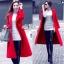 Long red coat thumbnail 2