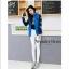 เสื้อผ้าเกาหลี พร้อมส่ง แจ๊ตเก๊ตเบสบอลสไตล์สาวเกาหลี thumbnail 2