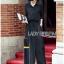 เสื้อผ้าเกาหลี พร้อมส่งเชิ้ตเดรสยาวผ้าคอตตอนรูดเชือกที่เอวสไตล์มินิมัล thumbnail 5