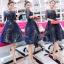 ชุดเดรสเกาหลี พร้อมส่งGalaxy Diamond Luxury Dress thumbnail 5