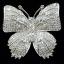 พร้อมส่ง big butterfly diamond Brooch เข็มกลัดเพชรทรงผีเสื้อ สไตส์ chanel thumbnail 2