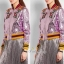 เสื้อผ้าเกาหลี พร้อมส่งGucci Jackets แจ๊คเก็ตสุดแนว วิ้งๆสีเด่นสวย thumbnail 3