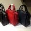 รุ่นใหม่ Zara mini saffiano leather bag กระเป๋าทรงเหลี่ยม หนัง Saffiano thumbnail 1