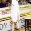 ชุดเดรสเกาหลี พร้อมส่งMini Dress สีขาว ทรงทันสมัย thumbnail 4