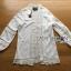 เสื้อผ้าเกาหลี พร้อมส่งเดรสเสื้อคลุมผ้าคอตตอนตกแต่งลูกไม้สีขาว thumbnail 10