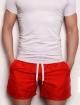 กางเกงขาสั้นชายหาด แดง