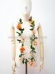 พวงมาลัยฮาวาย พวงมาลัยดอกไม้ พวงมาลัยแฟนซี กุหลาบส้ม