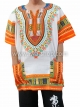 เสื้อลายชนเผ่า เสื้อลายจังโก้ สีผสมส้ม