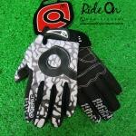 ถุงมือเจลเต็มนิ้ว QEPAE ลายพรางขาวดำ