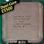 [775] Dual Core E5500 (2M Cache, 2.80 GHz, 800 MHz FSB)