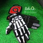 ถุงมือเจลเต็มนิ้ว QEPAE รุ่น SKULLY