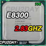 [775] Core 2 Duo E8300 (6M Cache, 2.83 GHz, 1333 MHz FSB)