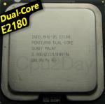 [775] Dual Core E2180 (1M Cache, 2.00 GHz, 800 MHz FSB)