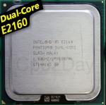 [775] Dual Core E2160 (1M Cache, 1.80 GHz, 800 MHz FSB)