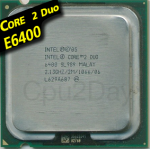 [775] Core 2 Duo E6400 (2M Cache, 2.13 GHz, 1066 MHz FSB)