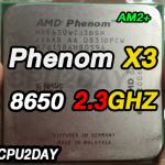 [AM2+] Phenom X3 8650 2.3Ghz