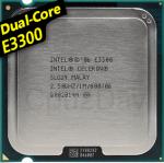 [775] Dual Core E3300 (1M Cache, 2.50 GHz, 800 MHz FSB)