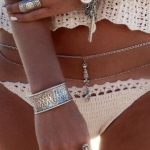 สร้อยเอว | ห่วงโซ่เอว Bikini Bodychain ornaments