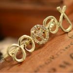 แหวนทองคู่อักษรเกาหลี