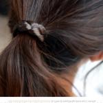ที่มัดผมเกาหลี (สีดำ)
