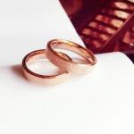 แหวนทองประดับแฟชั่นเกาหลี ( ขนาด 6* )