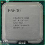 [775] Dual Core E6600 (2M Cache, 3.06 GHz, 1066 FSB)