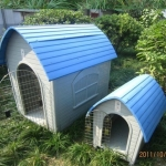 บ้านสุนัขพลาสติก ไซส์ XL สูง 117 cm [สินค้าพร้อมส่ง]