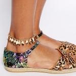สร้อยข้อเท้า Tassel foot chains Ankle Bangle